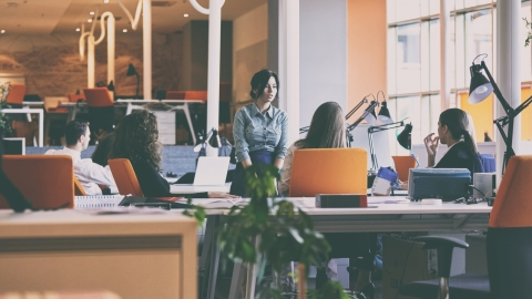 Flexible work space becoming more popular in Asia Pacific