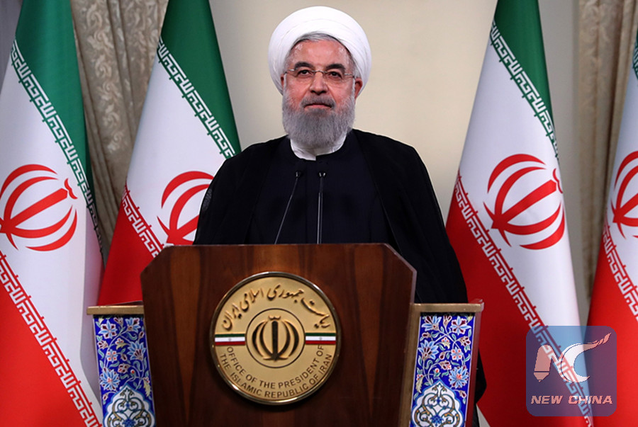 Iran vows to withstand U.S. sanction pressures: Rouhani
