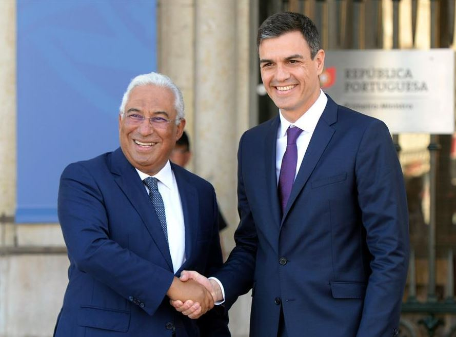 Portuguese PM meets with visiting Spanish PM in Lisbon