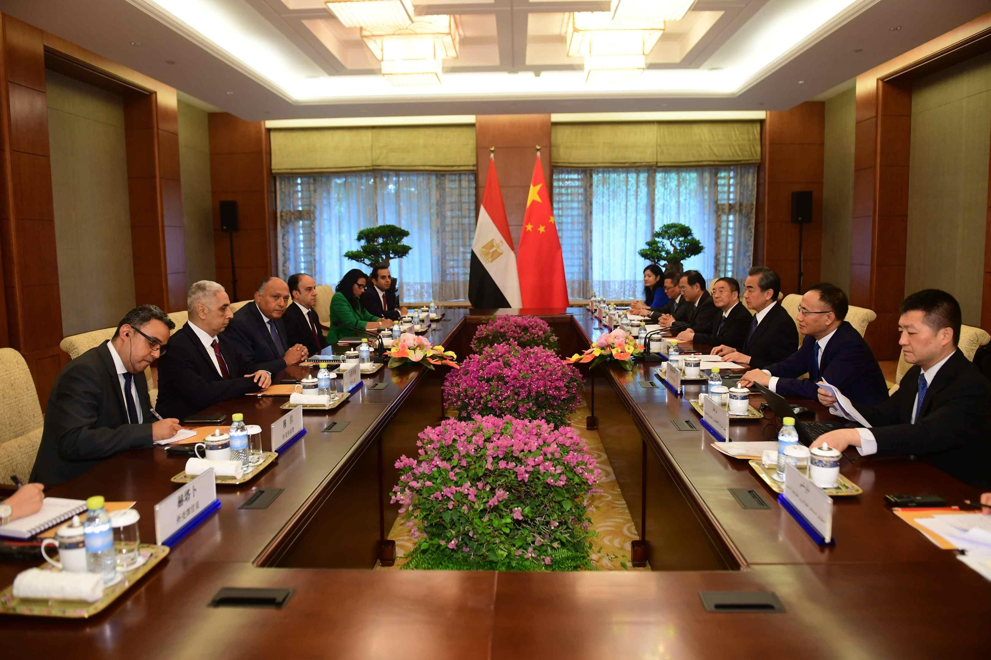 Wang Yi: China values the important influence of Egypt