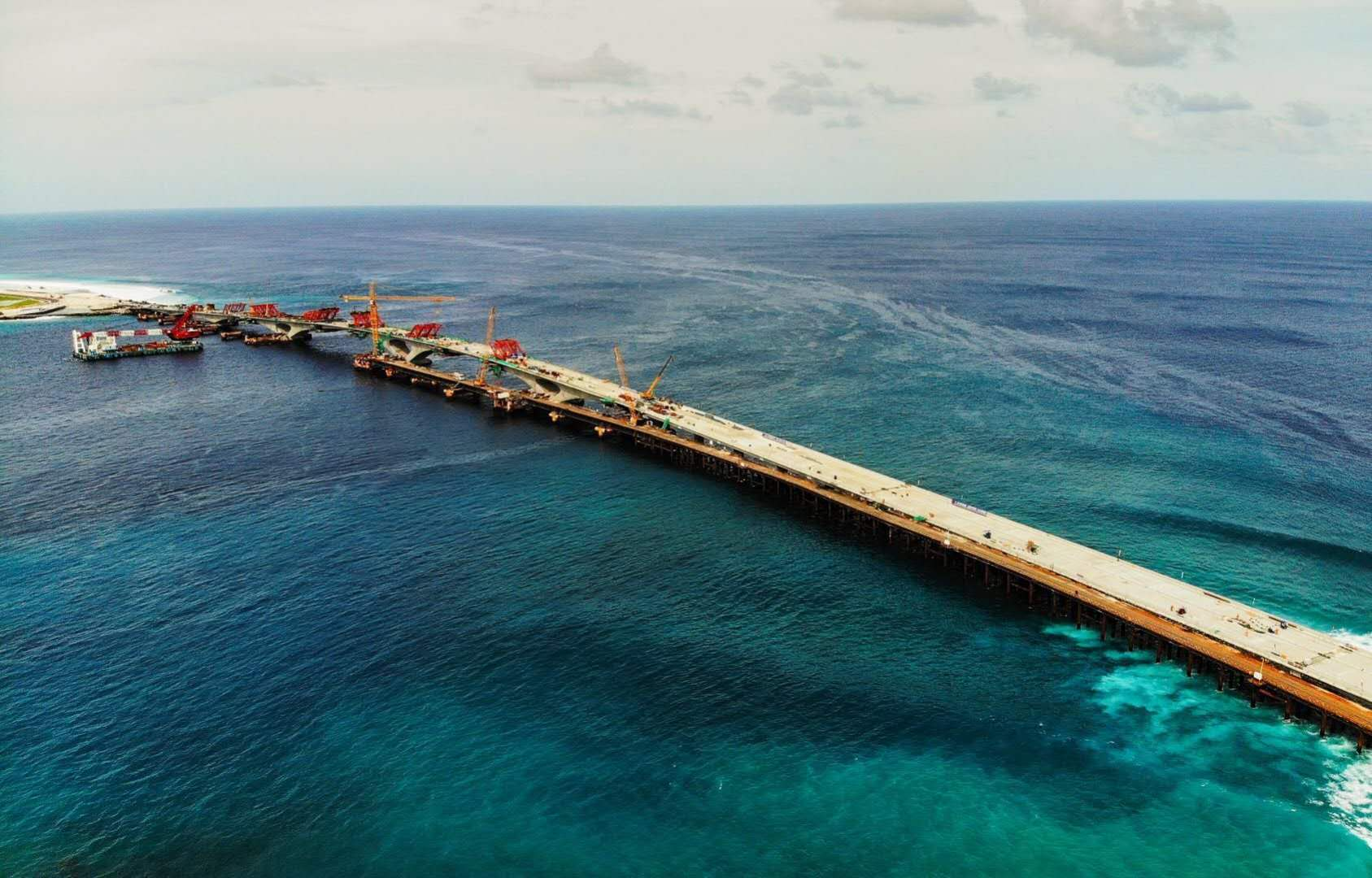 China-Maldives Friendship Bridge completed