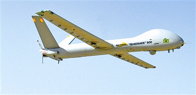 Israel unveils civilian UAV for security missions