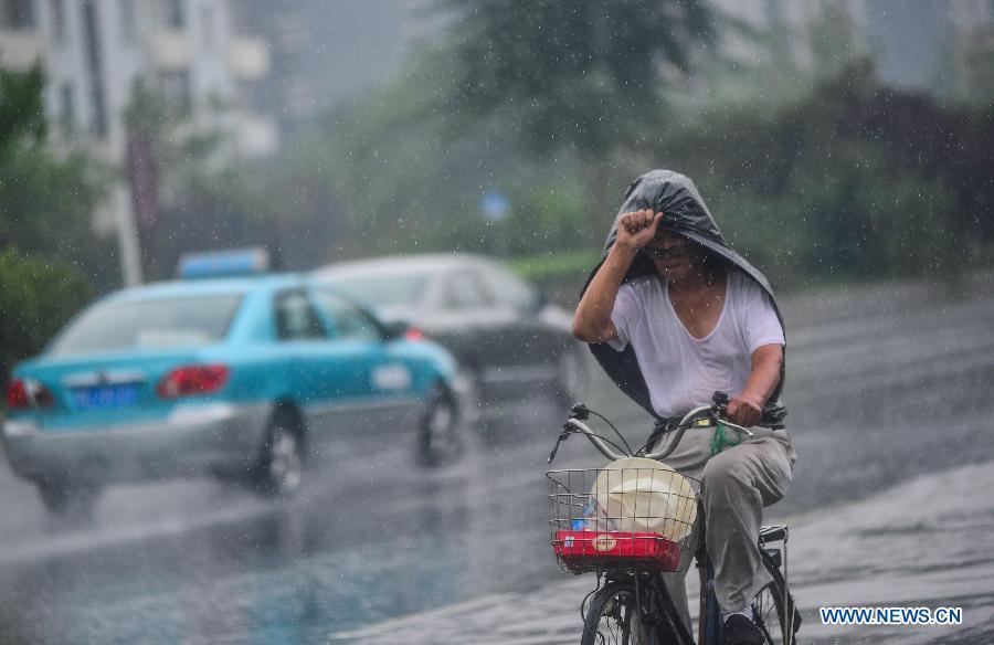 China renews alert for heavy rain