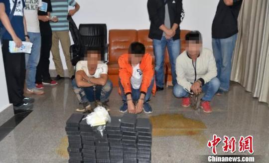 10 arrested, 30 kg of heroin seized in drug trafficking case