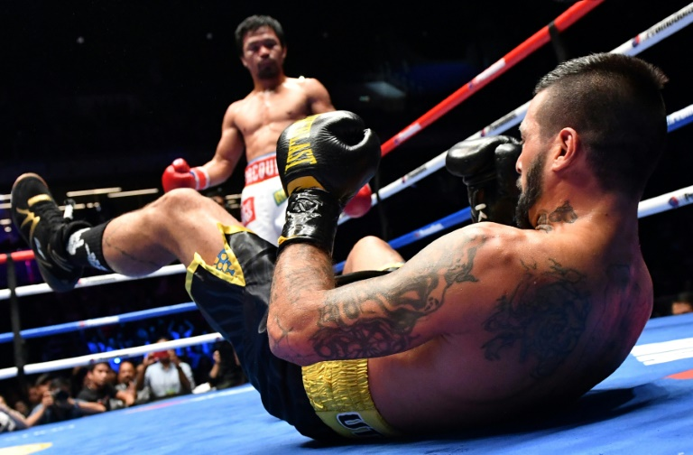 Pacquiao, the Philippines hero still king of the ring at 39