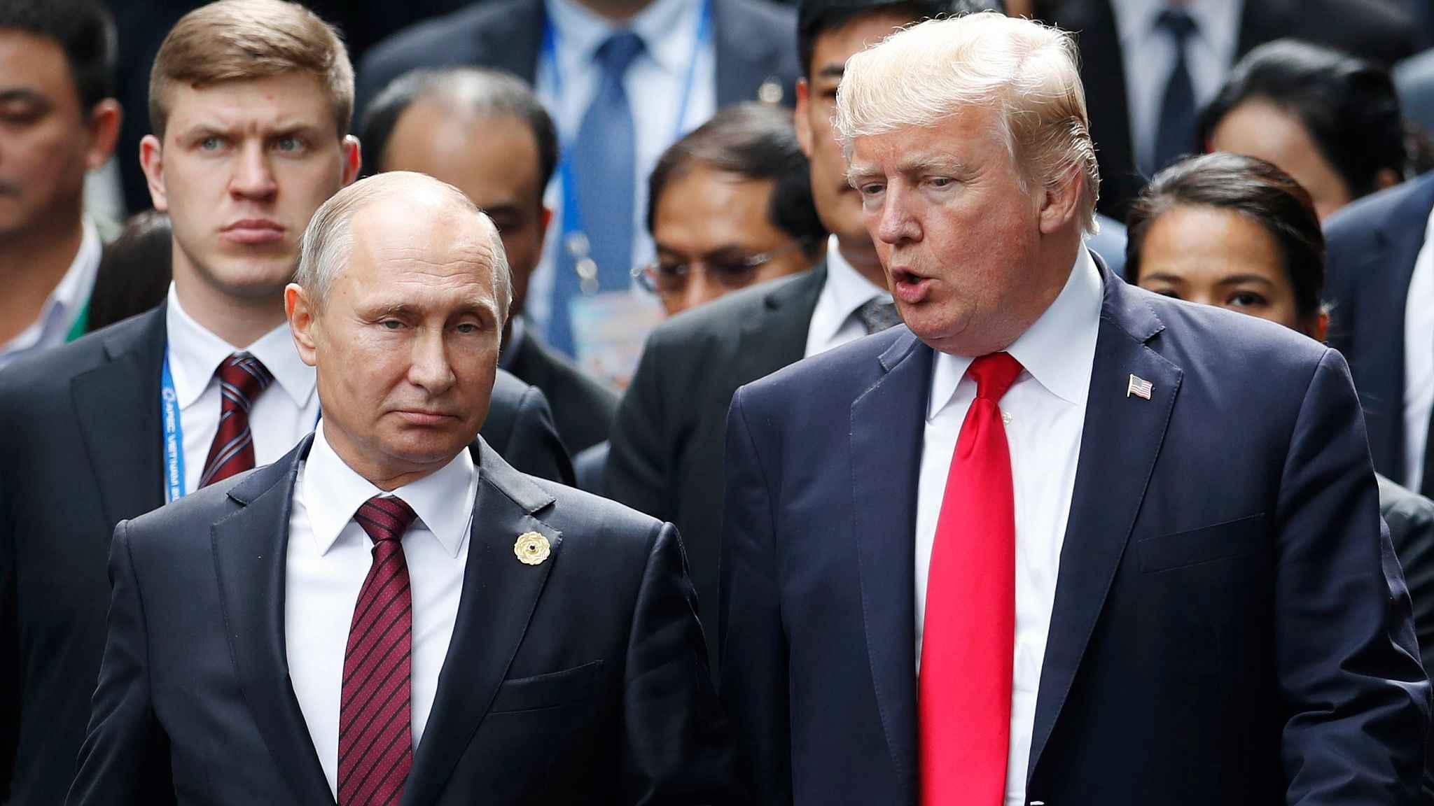 Opinion: Putin-Trump talks won't change adversarial Russia-US ties