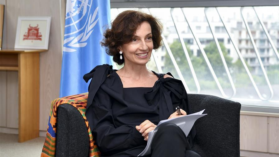 UNESCO wants higher-level relations with China
