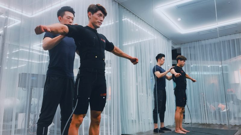 KMS fitness club opens branch in China's capital