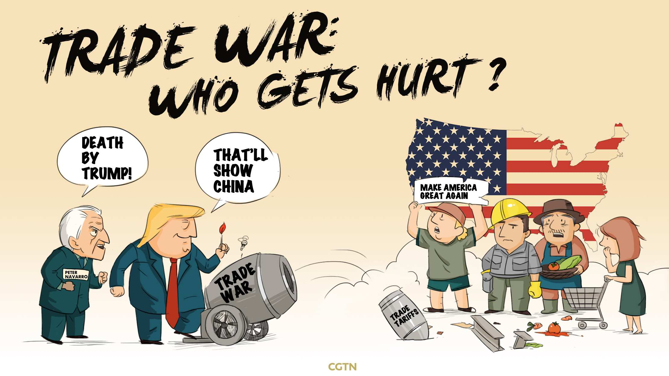 Who gets hurt when trade wars break out?