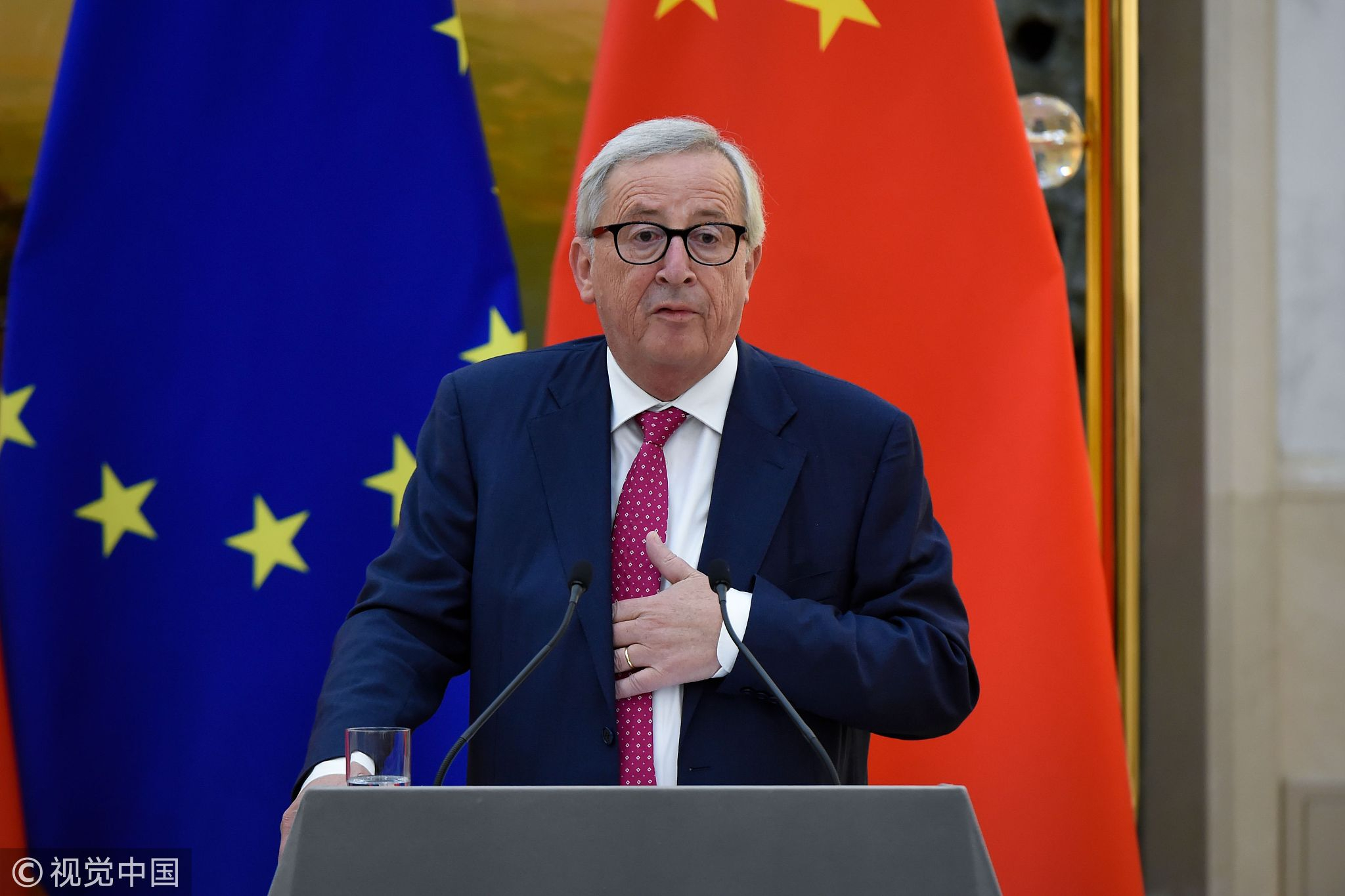 China, EU stand together to face the world's challenges