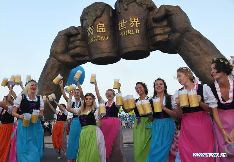 Int'l beer festival opens in Qingdao