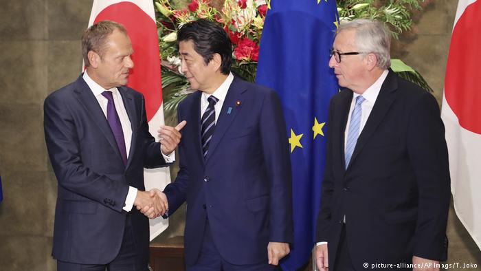 EU-Japan trade deal reflects US isolation