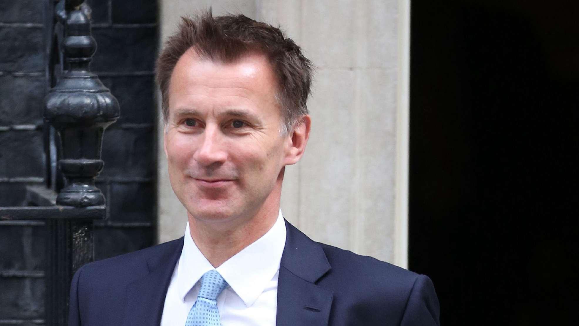 British new Foreign Secretary Jeremy Hunt to visit China