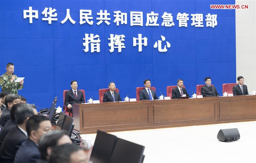 Chinese vice premier stresses efforts on flood control, drought relief