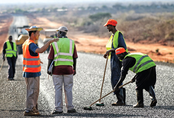 China Focus: Road project improves locals' lives in Africa
