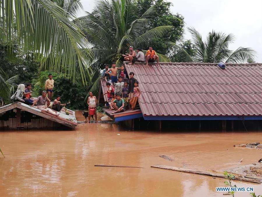 China stands ready to offer aid and assistance after dam collapsed in Laos: FM