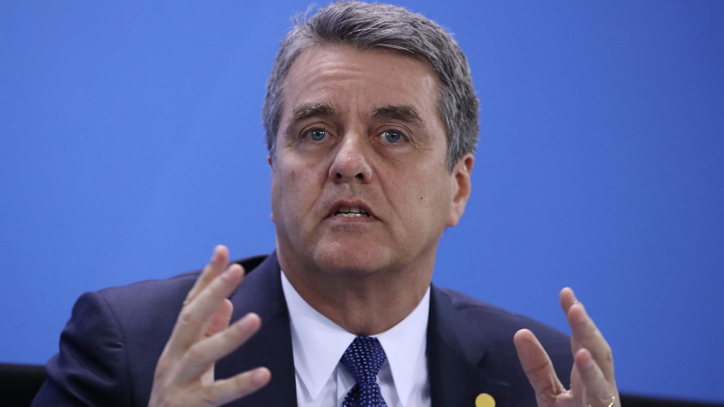 WTO chief calls for members to speak up for trading system