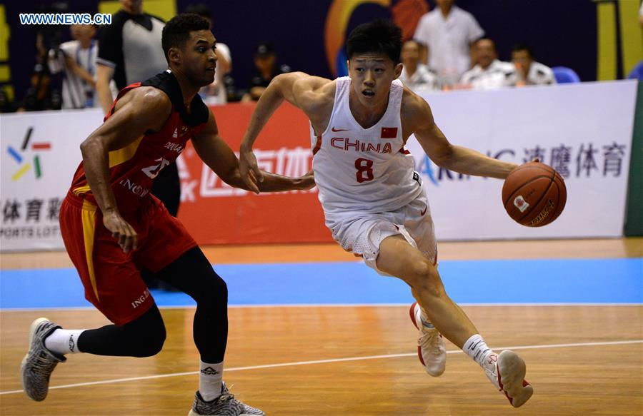 Germany wins Belt and Road International Basketball Tournament