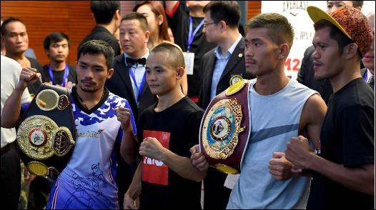 Boxing: China's boxing legend Xiong Chaozhong loses to Thailand's Thammanoon Niyomtrong