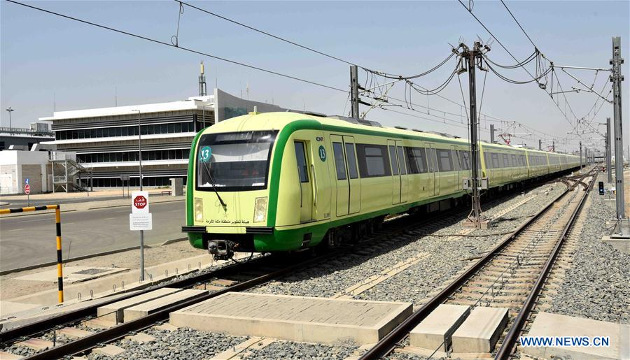 Mecca Light Rail tested in Saudi Arabia