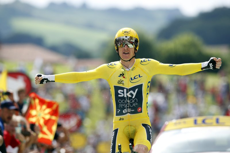 Thomas effectively seals his first Tour de France title