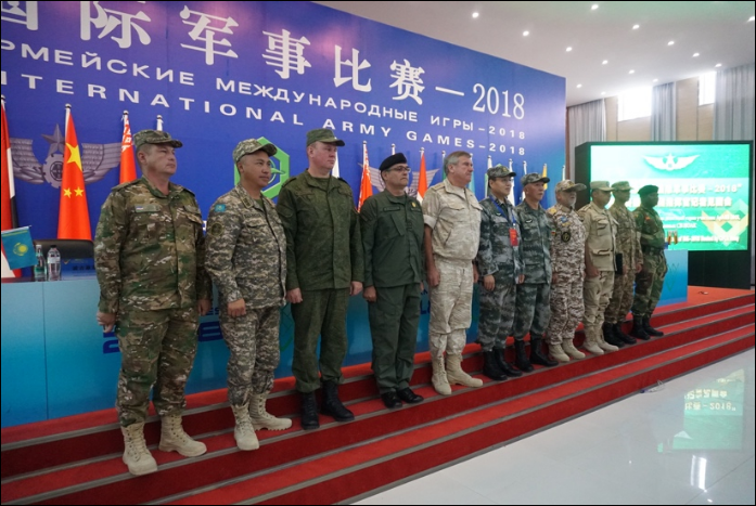Int'l Army Games 2018: Chinese army hosts three contests in Xinjiang