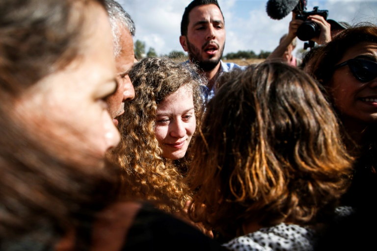 Israel releases Palestinian teen jailed for slapping soldiers