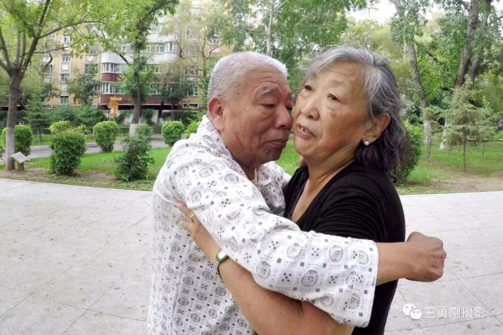 Elderly couple dances through stroke recovery