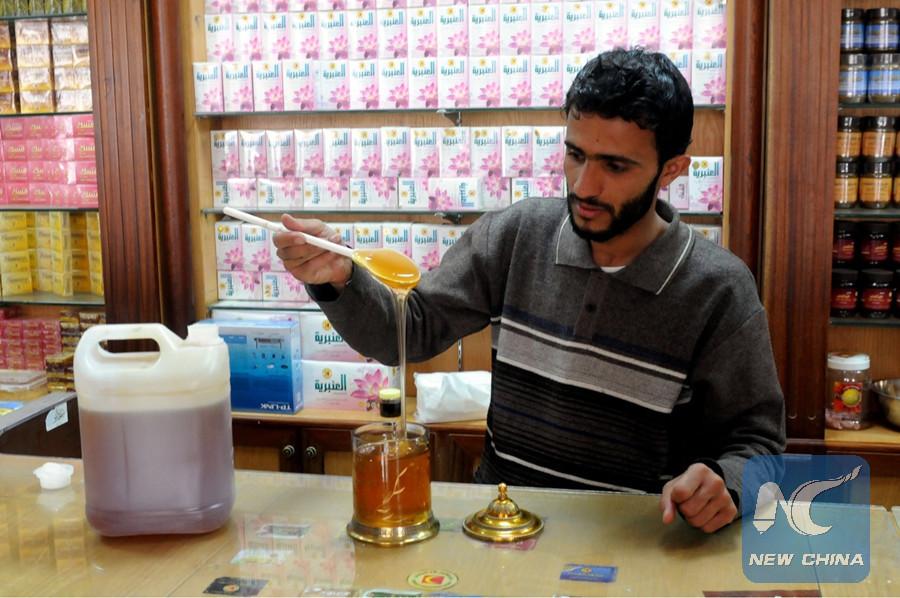 Yemeni honey industry struggles amid years of civil war