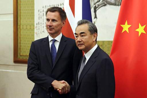 Cooperation with China benefits UK strategically
