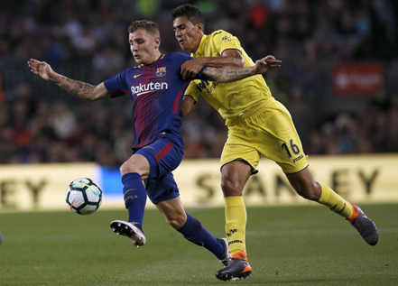 Digne joins Everton from Barcelona
