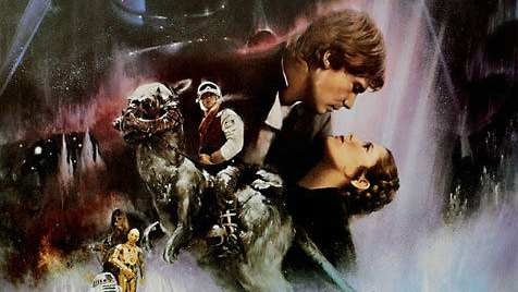 Draft poster for The Empire Strikes Back sells for $26,400