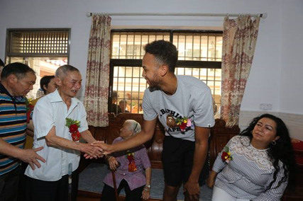 NBA player pilgrims to China to find his roots
