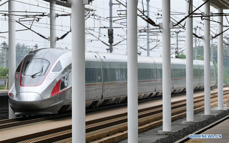Length of high-speed railway lines in China increases to 25,000 km in 10 years