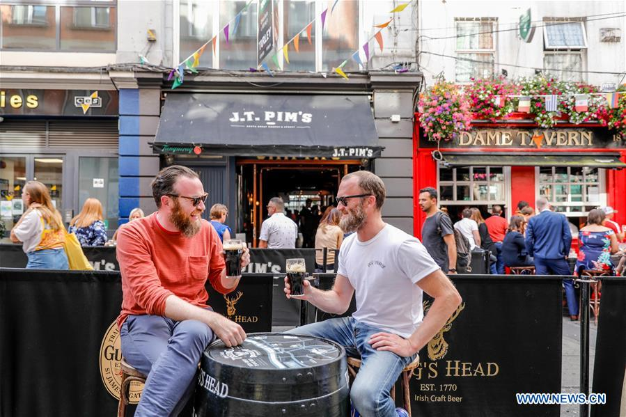 Int'l Beer Day marked in Dublin, Ireland