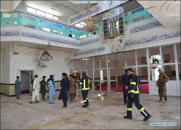 Deadly attack on Afghan mosque widely condemned