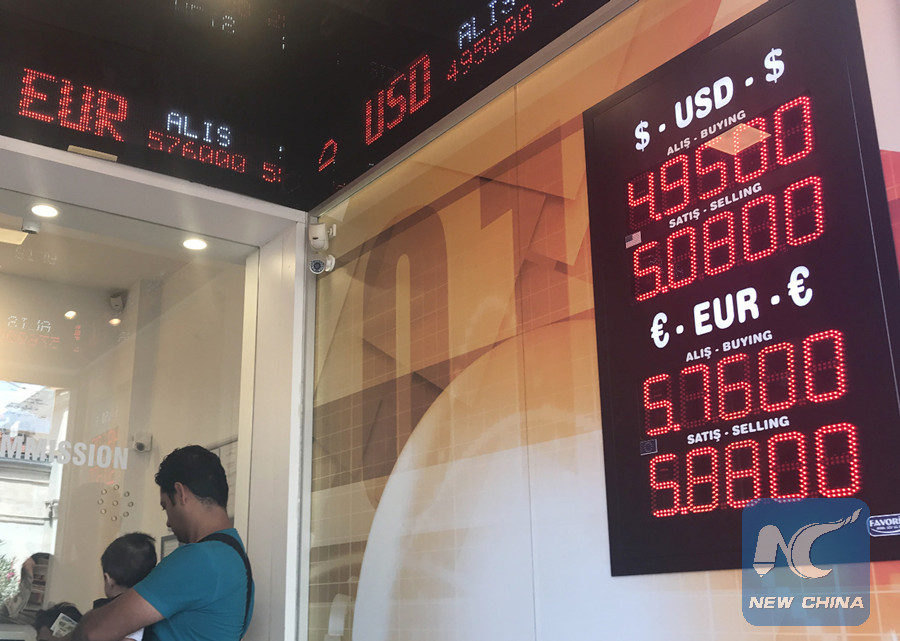 Turkish small business owners alarmed by currency's rapid decline