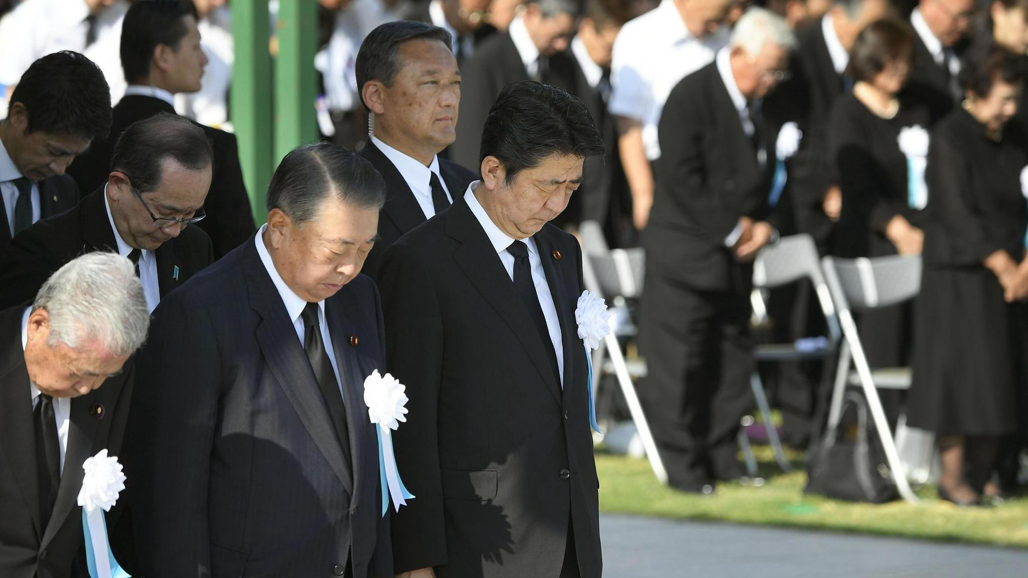 Japan urged to remember its WWII crimes at Hiroshima atomic bombing anniversary