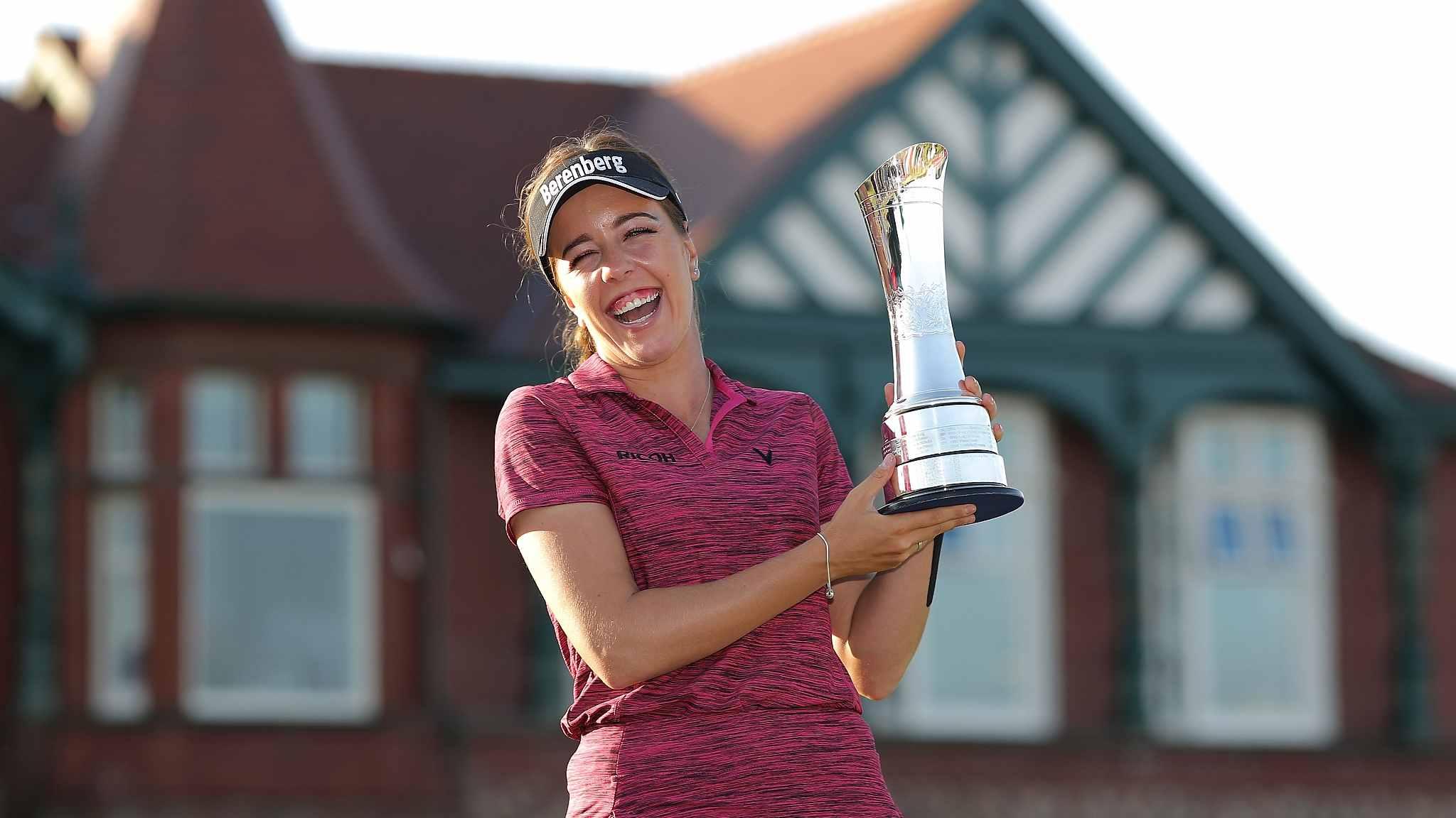 English golfer Georgia Hall wins women's British Open