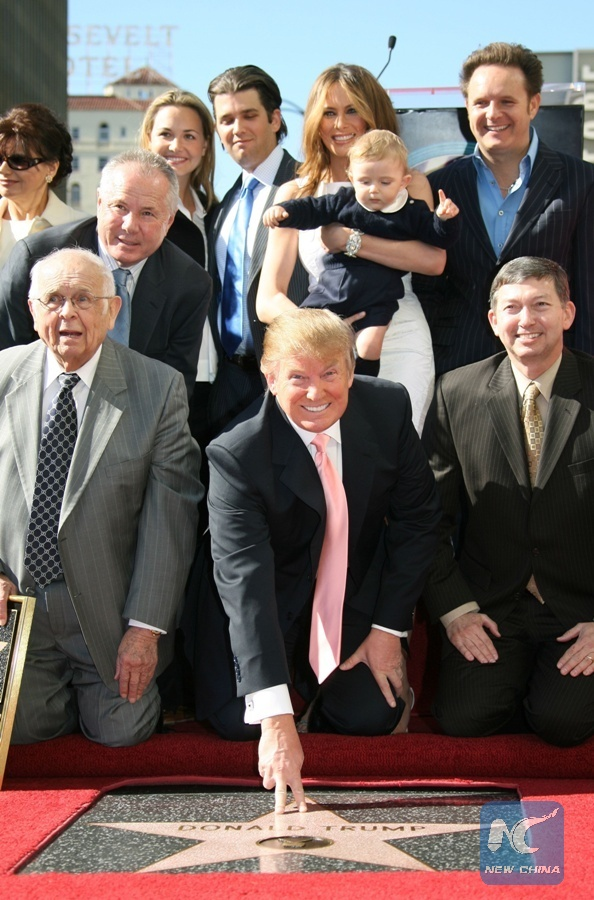 Politicians call for removal of Trump's Hollywood Walk of Fame star