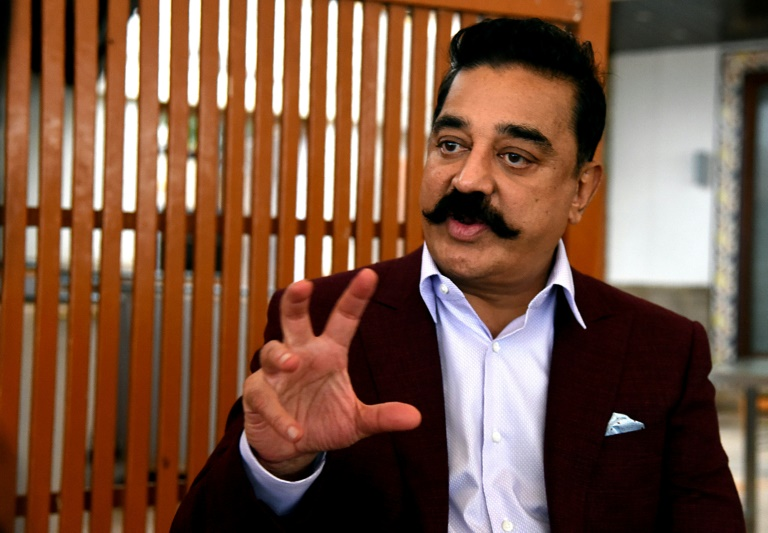 Indian film star prepares for new role - in politics