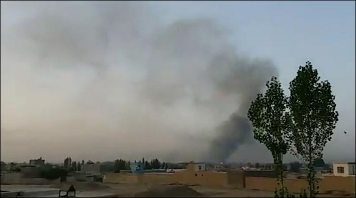 Taliban militants storm Ghazni in Afghanistan, seize parts of city
