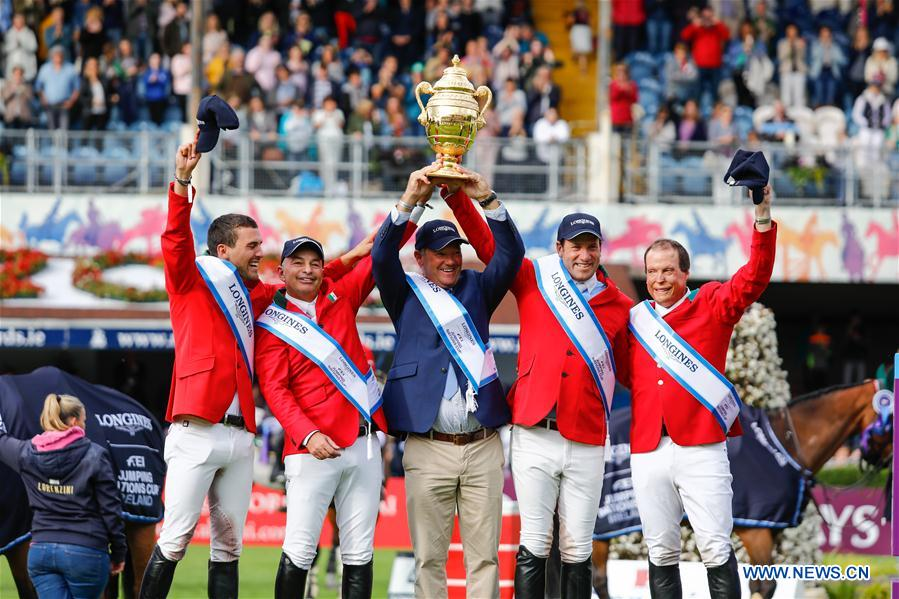 Mexico scores surprise win at Longines FEI Jumping Nations Cup in Dublin