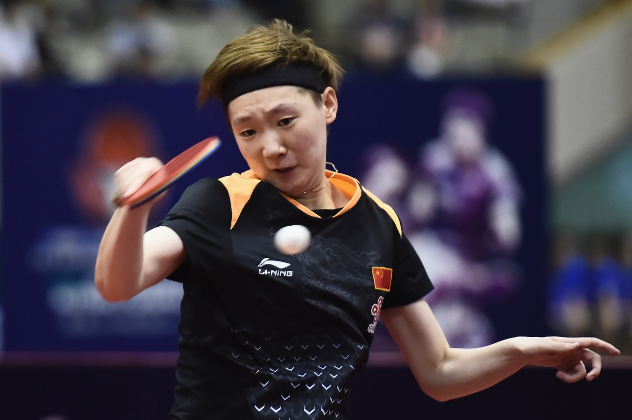 China's women's table tennis team gears up for Jakarta
