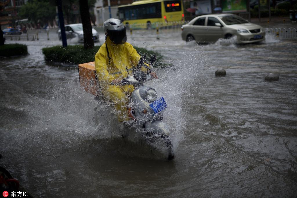 Typhoon Yagi hits East China