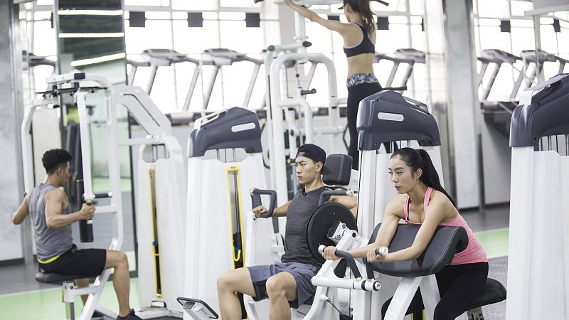 Fitness is a new status symbol in China