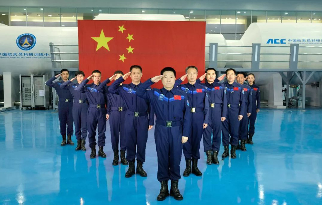 11 astronauts shine a light on China's manned spaceflight achievements