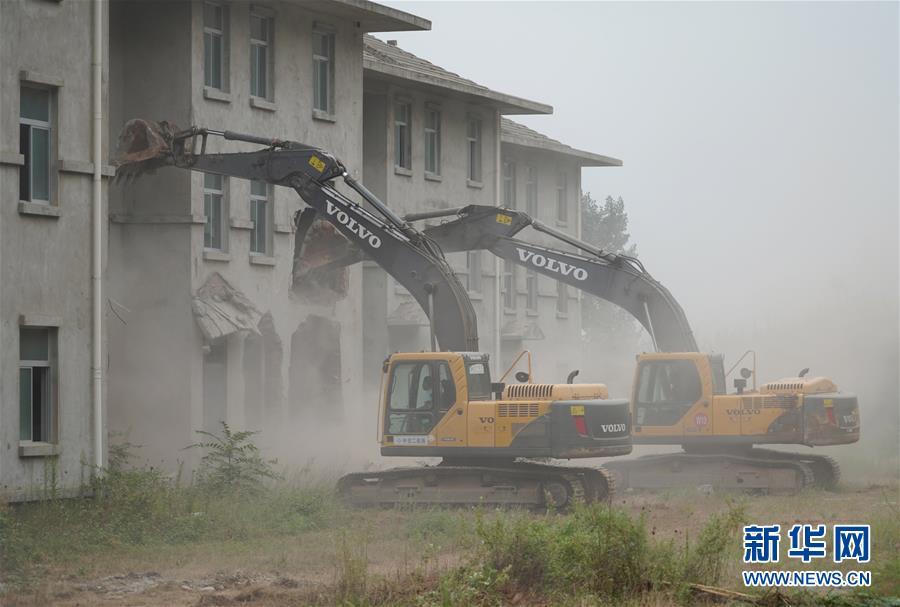 14 illegal villas in northern Qinling demolished