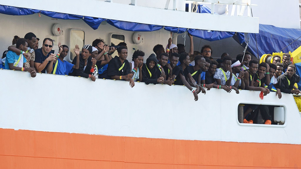 European countries reach migrant-sharing deal after rescue ship docks in Malta