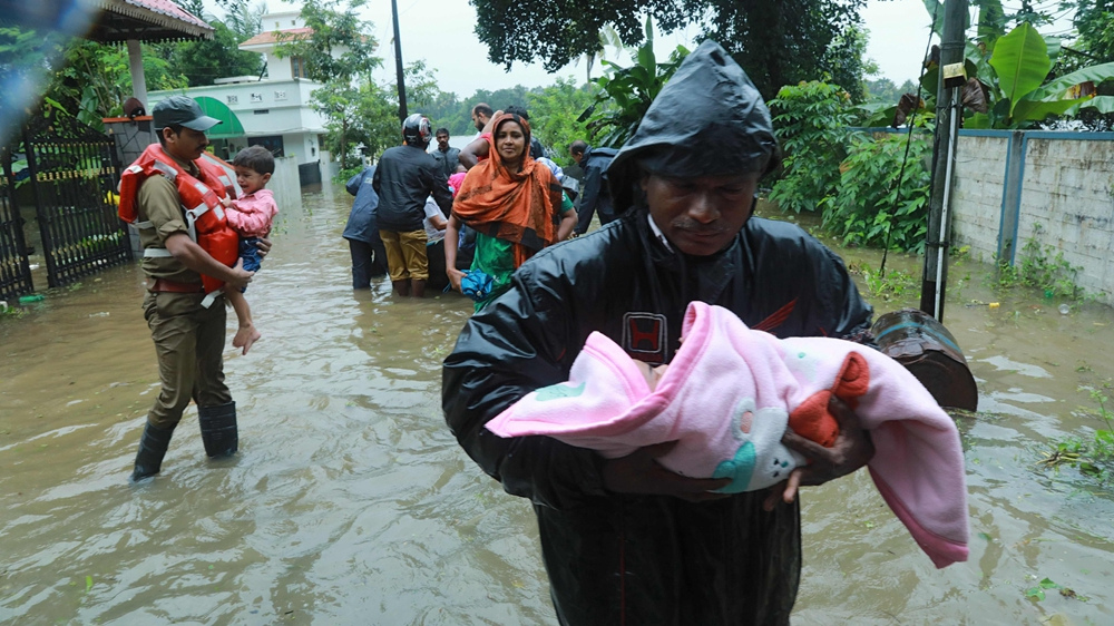 Death toll in India's Kerala flood jumps to 67